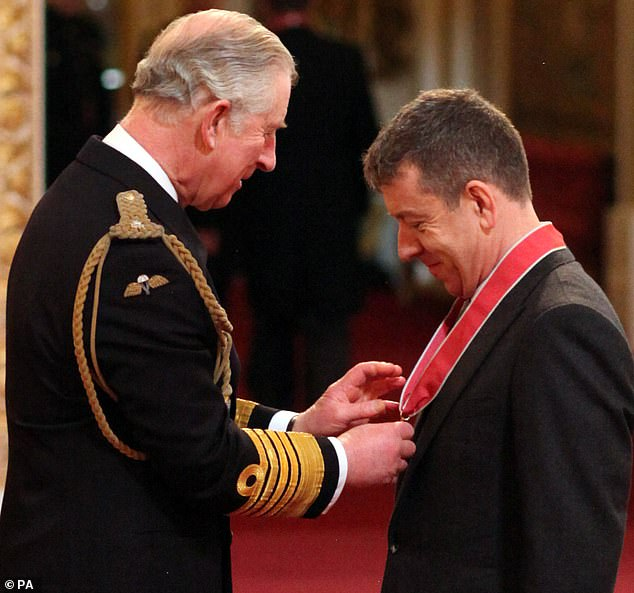 How Prince Charles once joked with The Crown creator Peter Morgan when he was presented with a CBE
