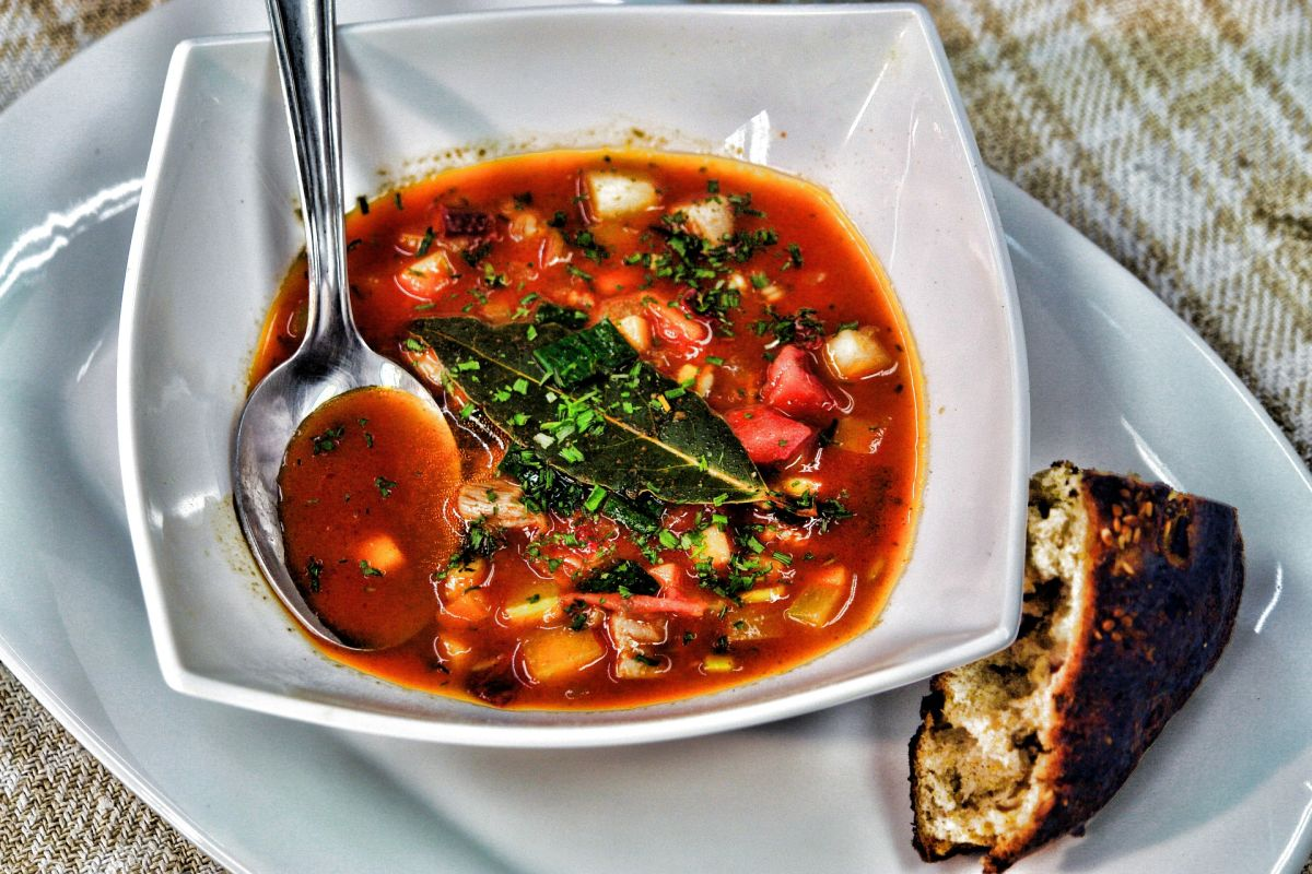 How to lose weight naturally with this delicious vegetable soup, low in calories, filling and very nutritious | The State