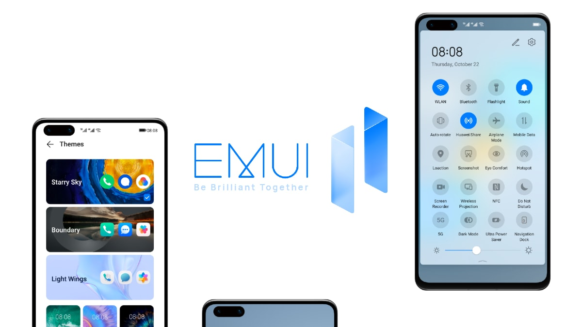 Huawei Unveils EMUI 11 Roadmap Rollout for Eligible Phones