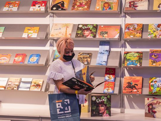 In Pictures: New books continue to attract visitors at Sharjah International Book Fair