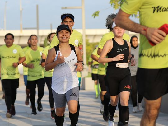 In Pictures: Running communities come together on last day of Dubai Fitness Challenge