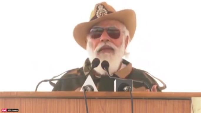 India will give 'prachand jawab' if it is tested, says Modi at Rajasthan's Longewala