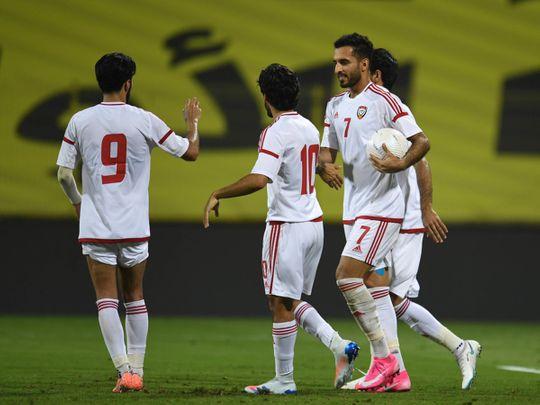 International football: Ali Saleh makes the difference in UAE win over Tajikistan