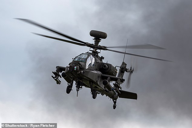 Investigation launched after Apache helicopter fires 'flesh shredding round' at British Army Base