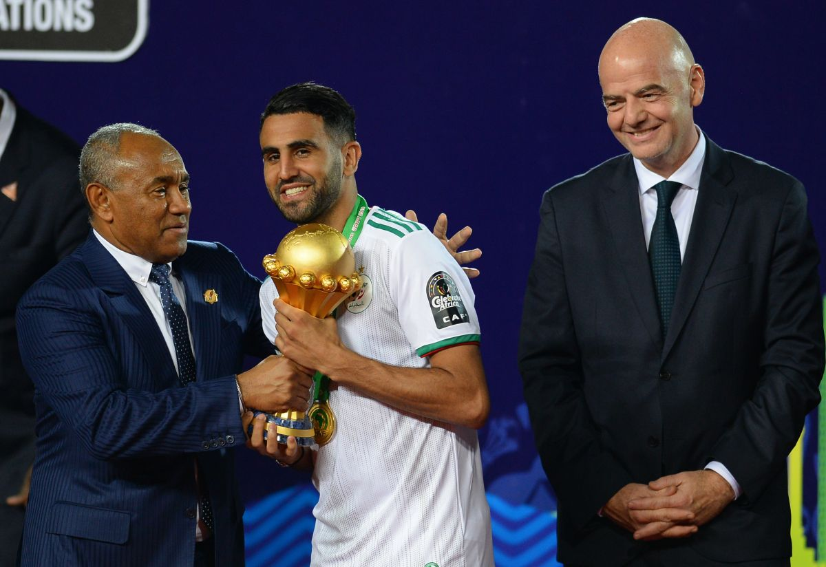 It was great: Riyad Mahrez scored the most spectacular goal of the FIFA date | The State