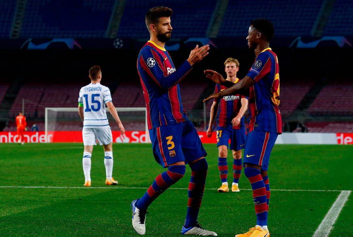 It wasn't for Bartomeu! Shakira revealed to whom Gerard Piqué dedicated the celebration of his last goal