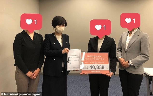 Japanese students launch petition to get the country's age of consent raised from 13 to 16