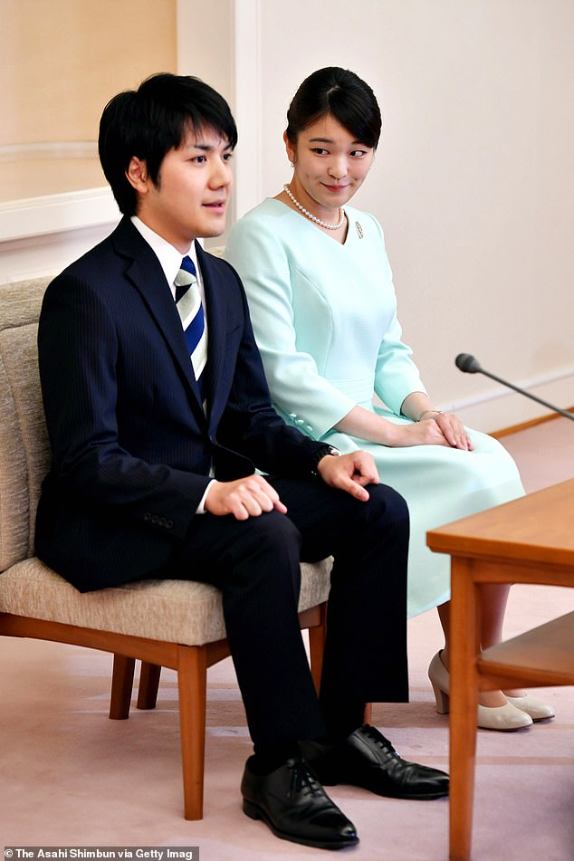 Japan's Princess Mako delays her wedding AGAIN after postponing it over two years ago