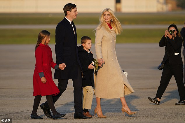 Jared and Ivanka withdrew kids from school 'after parents complained they were flouting COVID rules'