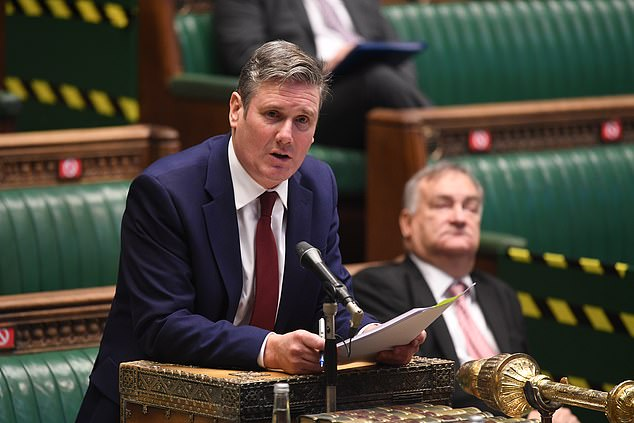A total of 32 Labour MPs and peers from the Socialist Campaign Group described Sir Keir Starmer's decision to deny Jeremy Corbyn the whip as 'wrong and damaging'