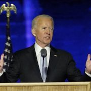 Joe Biden makes a gaffe in his first speech saying '230 million thousand' people have lost loved-one
