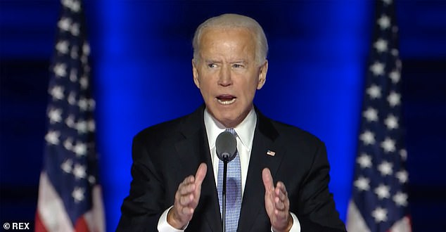 Joe Biden puts his faith at center of his address to nation