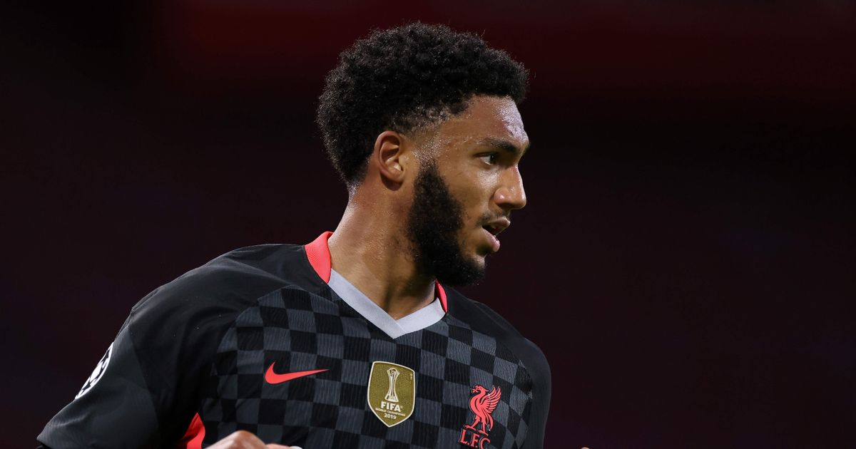 Joe Gomez breaks silence on injury with message to Liverpool fans