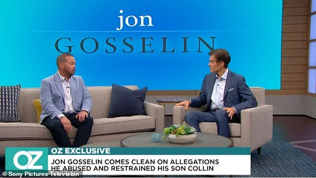 Dr Oz appearance: Jon Gosselin has implored his children to speak out as accusations of physical abuse fly between himself and his ex Kate Gosselin