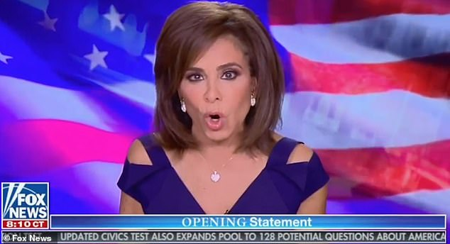 Judge Jeanine Pirro rips into Democrats telling Trump to 'accept he lost and move on'