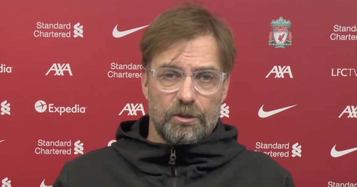 """Jurgen Klopp namechecks youngsters """"looking really good"""" in Liverpool training"""