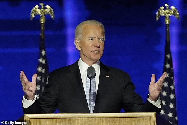 Just one mention of Donald Trump: How Joe Biden's victory speech avoided the elephant in the room