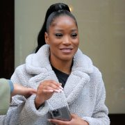 Keke Palmer's Wows With 'Dreamcatcher' In Chic Beige Coat At Macy's Thanksgiving Day Parade