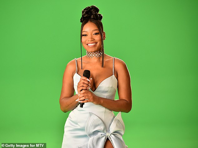 Keke Palmer faces backlash online after tweeting about using food stamps for 'healthy items only'