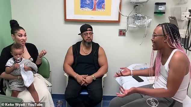 Keke Wyatt reveals she learned her son Rahjah had cancer after he was overcome by pain at Six Flags
