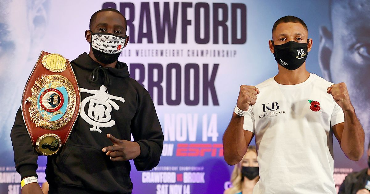 Kell Brook vs Terence Crawford TV channel and live stream information