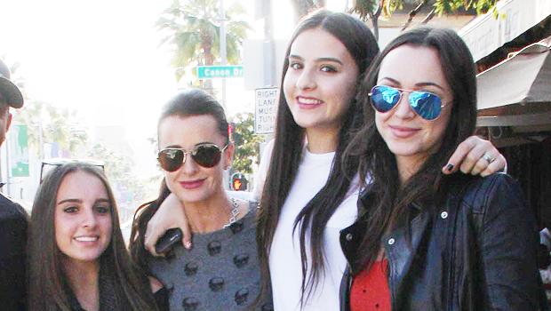 Kyle Richards' 4 Daughters Look So Grown Up As They All Rock Matching Xmas Pajamas In Family Photos