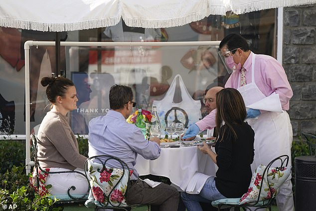 LA bans in-person dining for three weeks amid a surge in COVID cases