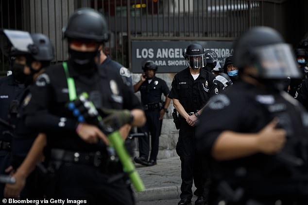 LA homicides cross 300 for the first time in a decade after a 32% spike in shootings