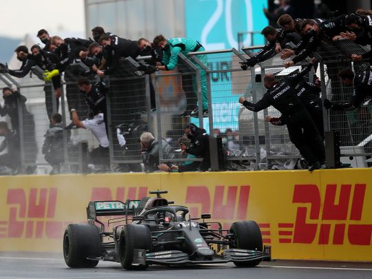 Lewis Hamilton: How the Turkish Grand Prix crowned the GOAT