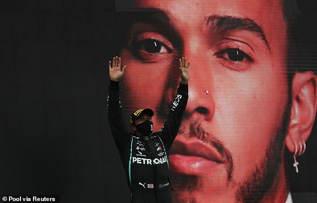 Lewis Hamilton's new £120m deal with Mercedes is in the balance… he is excelling on and off track