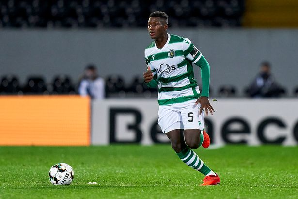 Nuno Mendes has made nine appearances for Sporting Lisbon this season