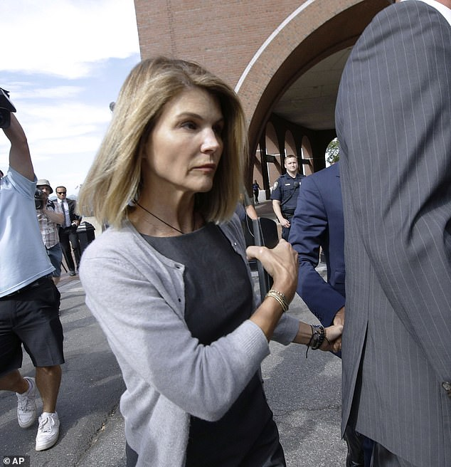 Lori Loughlin could be released on Christmas Day after completing her prison sentence