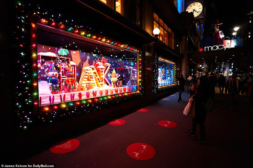 Macy's holiday window display pays tribute to the 'true grit' of healthcare workers