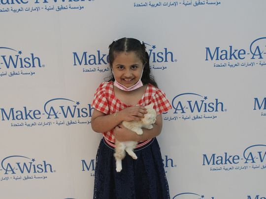 Make a Wish Foundation UAE helps ailing children possess their dream pets
