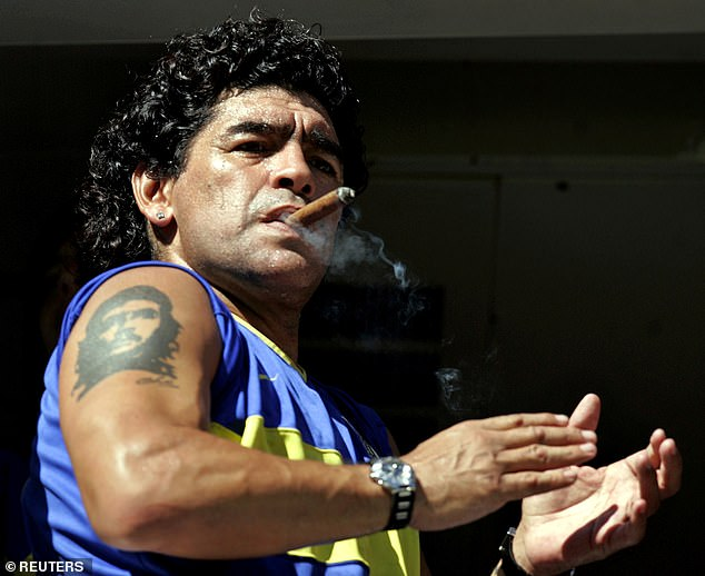 Maradona was a genius on the pitch – but his life outside of it would destroy him