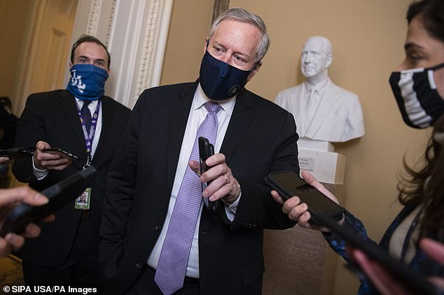 Mark Meadows tells president's staff they need permission to speak to members of next administration