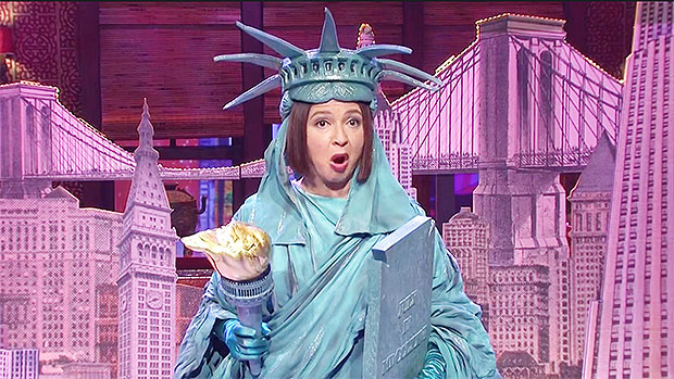 Maya Rudolph As The Statue of Liberty Claps Back At Trump's NYC 'Ghost Town' Diss: 'I'm Still Here'