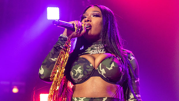 Megan Thee Stallion Sizzles In Black Mesh Jumpsuit & Twerks In First Live Performance Of 'Body' At AMAs