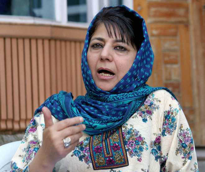 Mehbooba Mufti asks India, Pakistan to rise above political compulsions, initiate dialogue