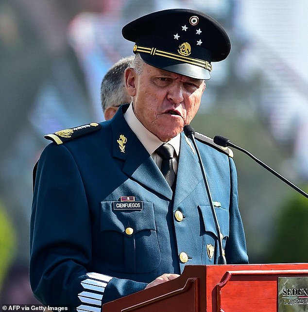 Mexico 'pressured DOJ into dropping charges against ex-defense minister Salvador Cienfuegos'