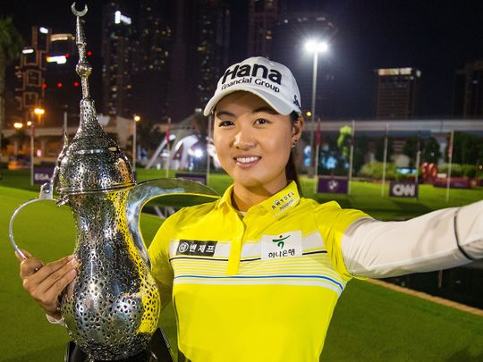 Minjee Lee secures second European Tour crown at the Omega Dubai Moonlight Classic