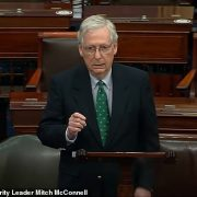Mitch McConnell opposes withdrawal of U.S. troops from the Middle East