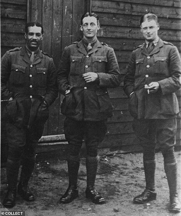 Mystery of grave of one of Britain's first black officers Walter Tull may have been solved