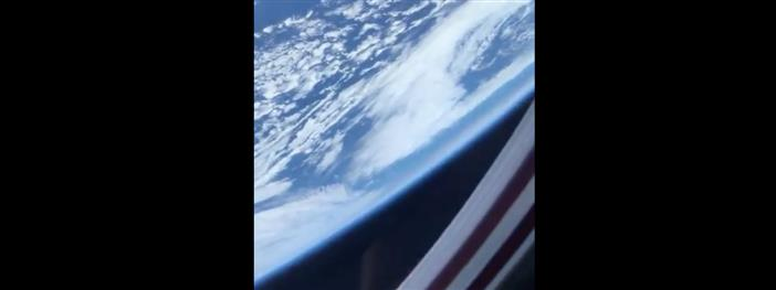 NASA Astronaut Victor Glover shares his first video of Earth taken from space station