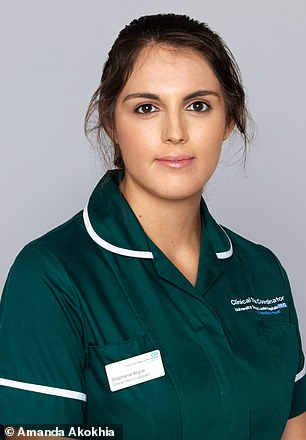 NHS workers treated to a makeover and glamorous photoshoot to say thank you for their work