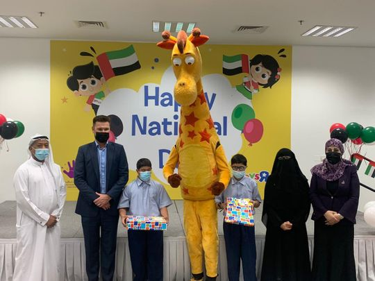 National Day celebration with Children of determination in Dubai