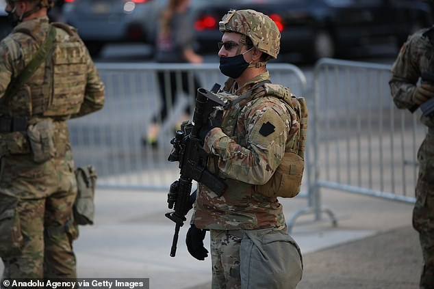 The National Guard has been deployed on the streets of Philadelphia to prepare for possible unrest as votes continue to be counted in the presidential election