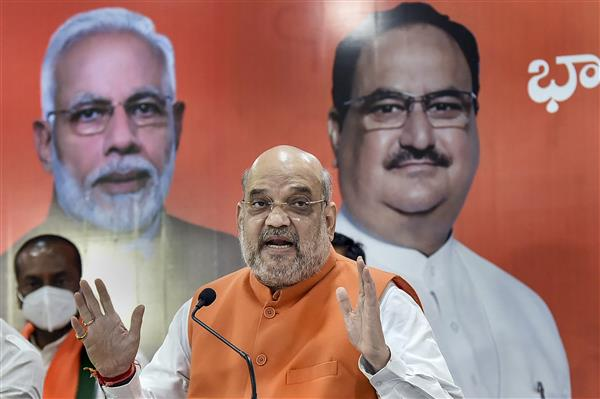 Never said farmers' protests were political, says Amit Shah