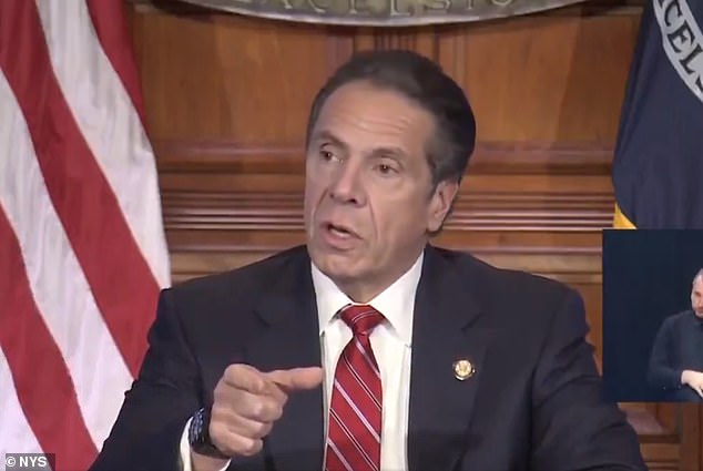 New York's Governor Cuomo says 7,000-person Brooklyn wedding blatant disregard for the law