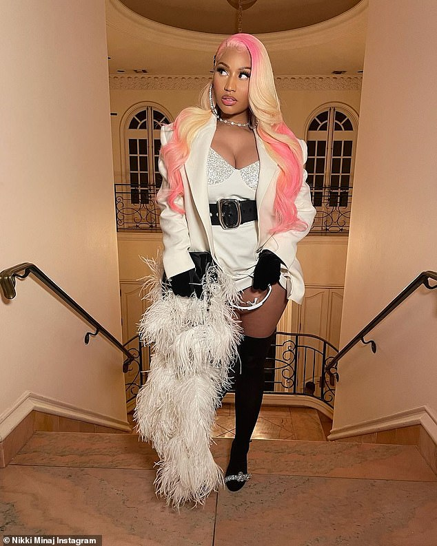 Nicki Minaj uploads audio clip featuring her baby son's voice… two months after giving birth